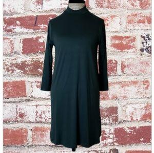 As U Wish Mock Turtleneck Tunic Dress Size M